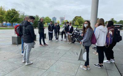 Kurz vor der Wahl: Besuch des Bundestags